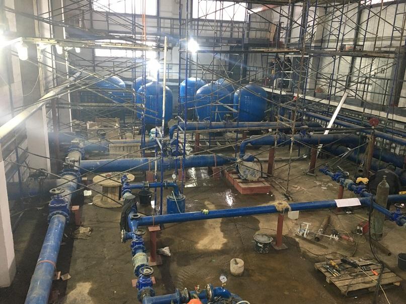 Строительство водозаборного узла (ВЗУ)