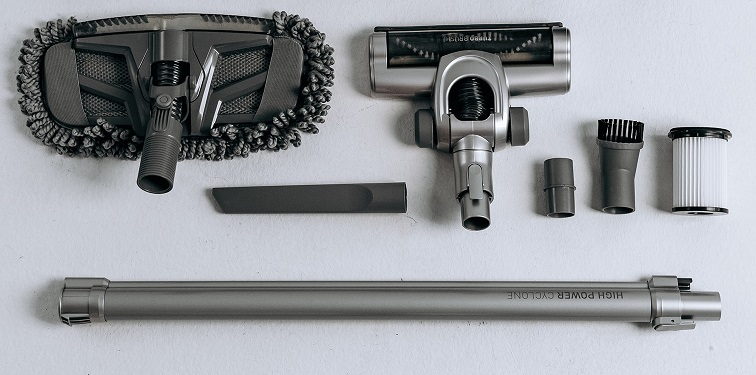 Обзор вертикального пылесоса Dauken BS 180 Aqua Brush