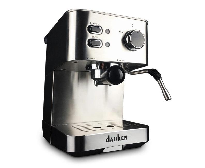 Новинка от Dauken. Рожковая кофеварки Dauken HC115 в продаже