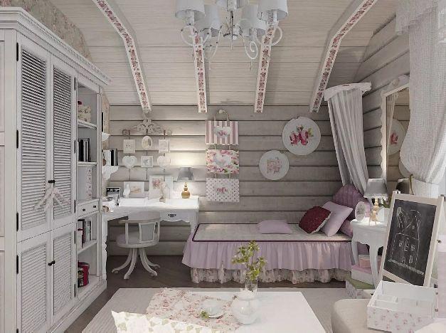 1ac797fffc197d156691a3c49efd6d5a - Детская комната в стиле шебби-шик