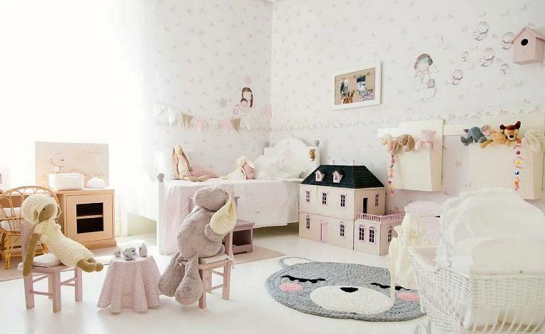 69bacf96344d8bdb7f81bd666d4035ca - Детская комната в стиле шебби-шик