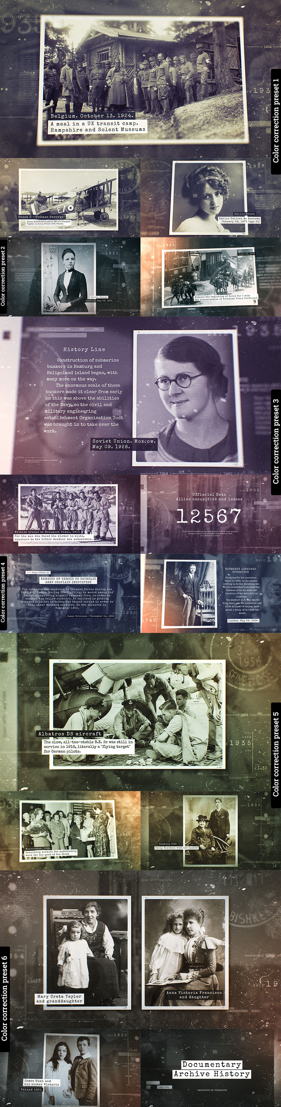 Documentary Archive History - 1