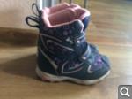 Продам мембранные ботинки  на девочку зима 29р (стелька 18, 5 см)за 500 р  131e44413071da2d0dda091d3bdd8823