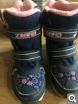 Продам мембранные ботинки  на девочку зима 29р (стелька 18, 5 см)за 500 р  6e77e8cb567eeff48a77a4a859671151