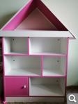 Стеллаж-домик для кукол или игрушек 3200р 1f129ebbda4821292744da30d0c6caa7